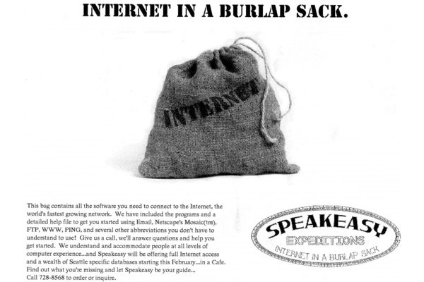 Internet in a Burlap Sack