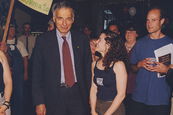 Press: Nader for Prez!