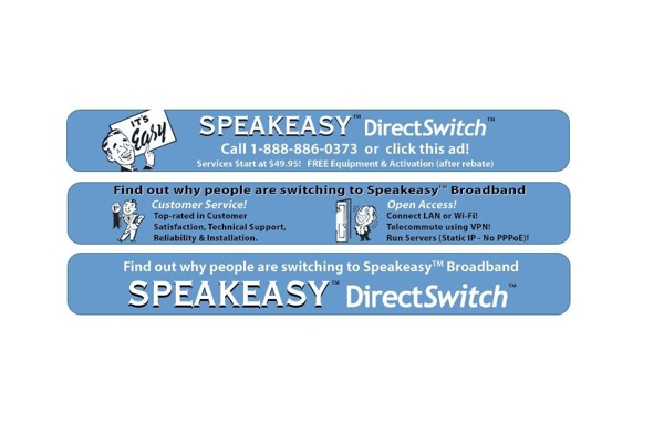 Press Release: DirectSwitch – Speakeasy Offers Customer-Friendly Transition Program for Stranded DirecTV DSL Subscribers